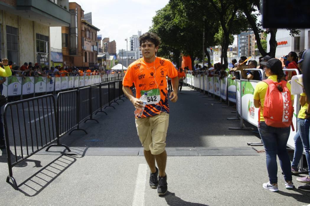 Así fue mi carrera en el ¼ de maratón por los niños con cáncer, en Bucaramanga